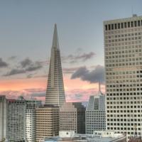 Cloudy SF Skyline